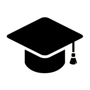 Black mortarboard from College Without the Campus